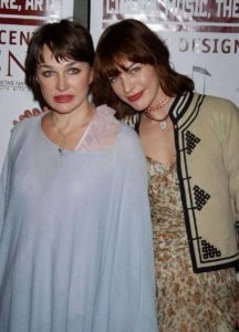 "Milla Jovovich and mom  Galina Loginova Photo by Roger Karnbad   2005 Tower Awards ""Russian Nights The Festival Of Russian Culture"" Opening Night at the Pacific Design Center April 3, 2005 - West Hollywood, California CelebrityPhoto.com P.O. Box 1560 - Beverly Hills, Ca  90213-1560 Tel. # (310)786-7700  Fax. # (310)777-5455"